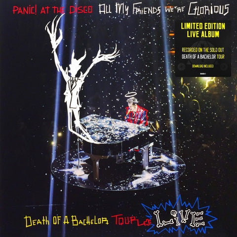 Panic! At The Disco - All My Friends We're Glorious: Death Of A Bachelor Tour Live (Limited Edition Vinyl 2xLP)