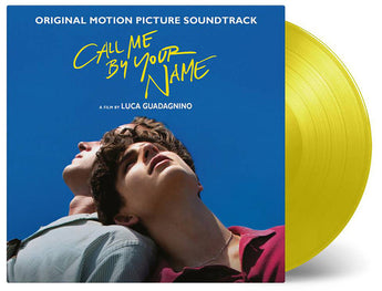 Call Me By Your Name [Soundtrack] (Numbered 180-GM Yellow Vinyl LP x/500) - Rare Limiteds