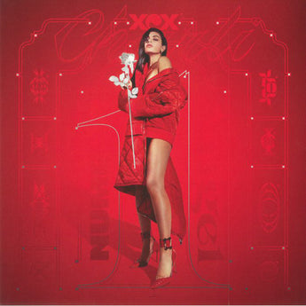 Charli XCX - Number 1 Angel / Pop (Red + Clear Vinyl 2xLP) - Rare Limiteds