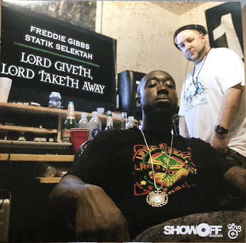 Freddie Gibbs & Statik Selektah - Lord Giveth, Lord Taketh Away (Limited Edition 180-GM Yellow Vinyl LP x/300) - Rare Limiteds