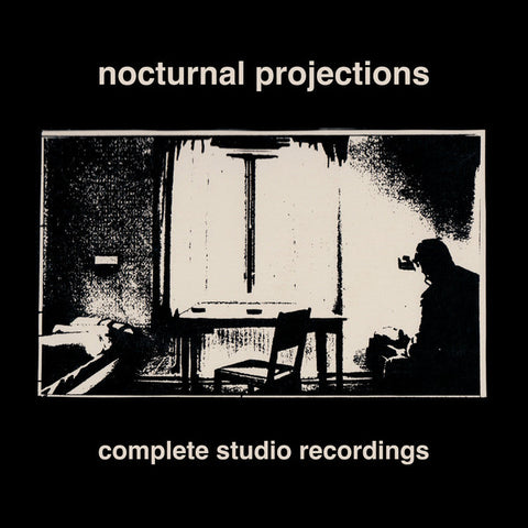 Nocturnal Projections - Complete Studio Recordings (Limited Edition Clear Vinyl LP x/100) - Rare Limiteds