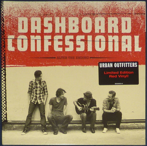 Dashboard Confessional - Alter The Ending (Urban Outfitters Exclusive Red Vinyl LP x/1000) - Rare Limiteds