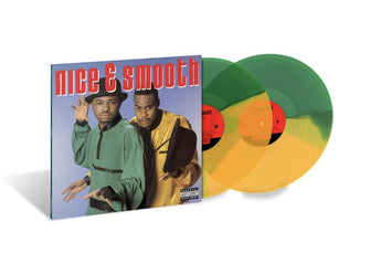 Nice & Smooth - Nice & Smooth [Self-Titled] (Limited Edition Green & Yellow Split Vinyl 2xLP)