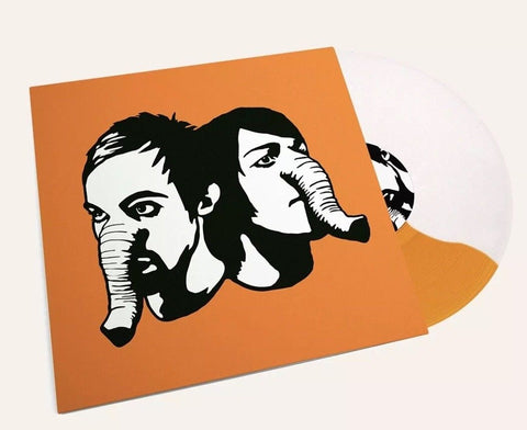 Death From Above - Heads Up (Limited Edition Orange / White Split Vinyl LP x/500) - Rare Limiteds