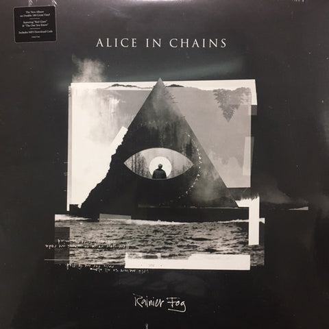 Alice In Chains - Rainier Fog (Limited Edition 180-GM Black & White Splatter Vinyl 2xLP) - Rare Limiteds