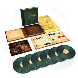 Howard Shore - The Lord of The Rings: The Return Of The King [The Complete Recordings] (Deluxe Edition Green Vinyl 6xLP Box Set x/8000) - Rare Limiteds