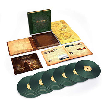 Howard Shore - The Lord of The Rings: The Return Of The King [The Complete Recordings] (Deluxe Edition Green Vinyl 6xLP Box Set x/8000)