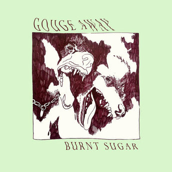 "Gouge Away - Burnt Sugar (Deathwish Exclusive ""Burnt Sugar"" Splatter Vinyl LP x/500) - Rare Limiteds"