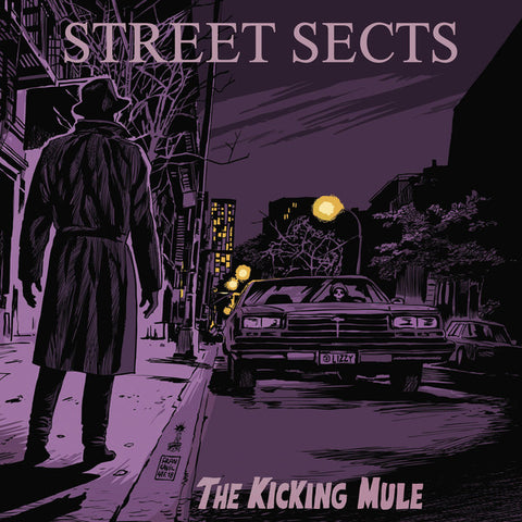 Street Sects - The Kicking Mule (Limited Edition Purple in Clear Splatter Vinyl LP x/250 + Book + Silk-Screened Cover Art x/100)