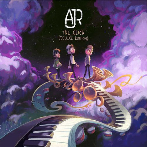 "AJR - The Click (Deluxe Edition Vinyl LP + 7"")"