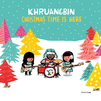 "Khruangbin - Chistmas Time Is Here (Limited Edition Green 7"" Vinyl) - Rare Limiteds"