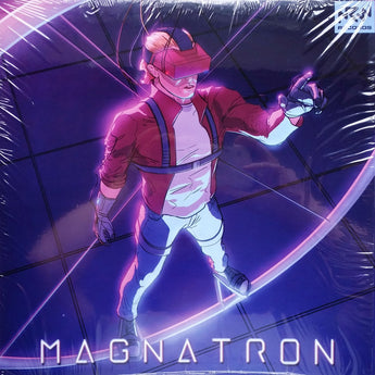 Various Artists - Magnatron (Limited Edition Clear w/ Purple Splatter Vinyl LP x/200 + Comic Book)