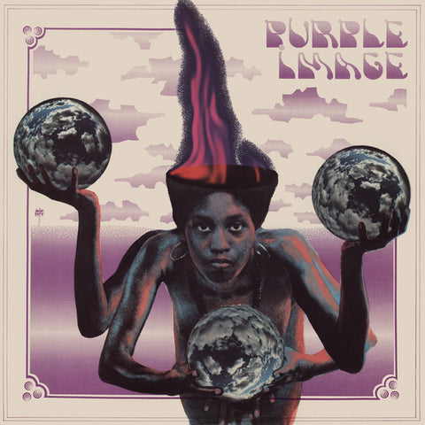 Purple Image - Purple Image [Self-Titled] (Bull Moose Exclusive Clear Vinyl LP x/100)