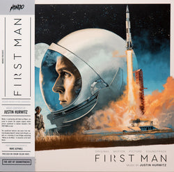 Justin Hurwitz - First Man: Original Motion Picture Soundtrack (Limited Edition 180-GM Lunar Surface Grey Vinyl LP) - Rare Limiteds
