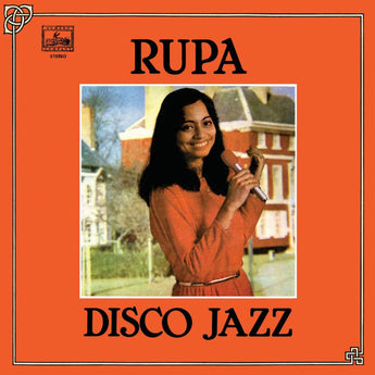 Rupa - Disco Jazz (Limited Edition Bengali Tiger Orange Vinyl LP)