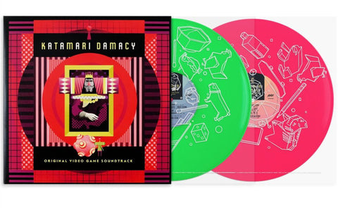 Various Artists - Katamari Damacy [Original Video Game Soundtrack] (Limited Edition Green + Pink Vinyl 2xLP x/500)