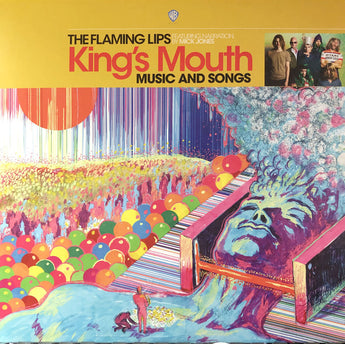 The Flaming Lips - King's Mouth (RSD 2019 Exclusive Gold Vinyl LP x/3600)