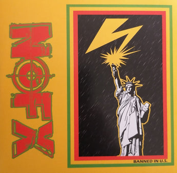 "NOFX - 7"" Of Month Club #4 (Limited Edition Yellow 7"" Vinyl)"
