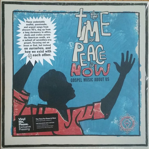 Various Artists - The Time For Peace Is Now (Vinyl Me, Please Exclusive Starburst Vinyl LP x/300)