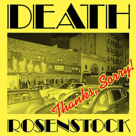 Death (Jeff) Rosenstock - Thanks, Sorry! (Limited Edition Vinyl 3xLP + Book)