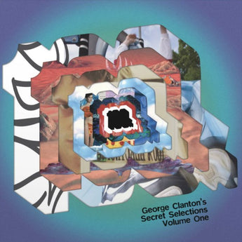 George Clanton, Mirror Kisses, Esprit, China - George Clanton's Secret Selections Volume One (Fan Club Exclusive Teal + Purple Vinyl 2xLP)