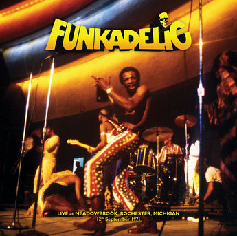 Funkadelic ‎– Live - Meadowbrook, Rochester, Michigan - 12th September 1971 (Amoeba Exclusive 180-GM Gold Vinyl 2xLP x/100)