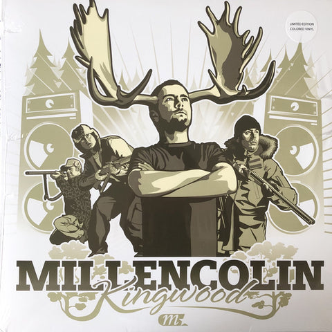 Millencolin - Kingwood (Limited Edition White Vinyl LP x/500)