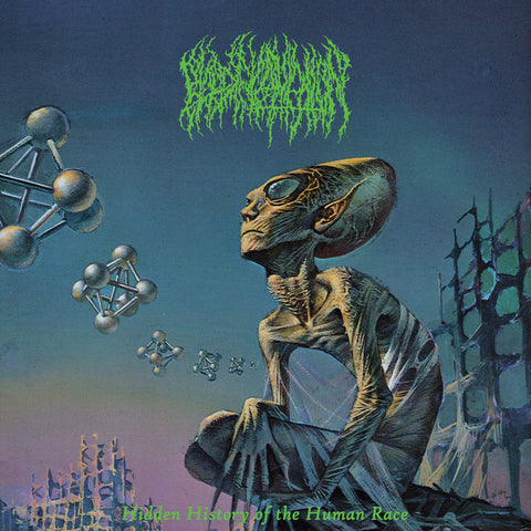 Blood Incantation - Hidden History Of The Human Race (Limited Edition Neon Green Vinyl LP)