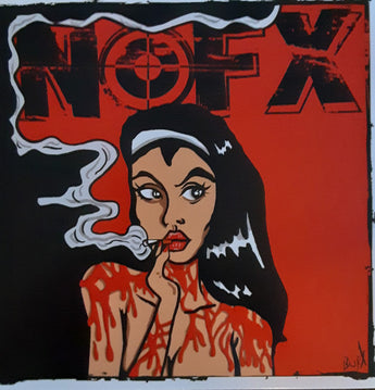 "NOFX - 7"" Of Month Club #5 (Limited Edition Red 7"" Vinyl)"