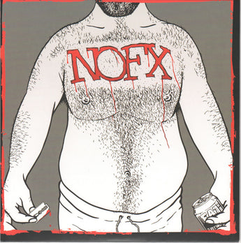 "NOFX - 7"" Of The Month Club #7 (Limited Edition Gray w/ Red Splatter 7"" Vinyl)"
