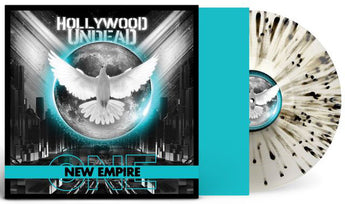 Hollywood Undead - New Empire Vol. 1 (Autographed Limited Edition Cloudy Clear w/ Black Splatter Vinyl LP)