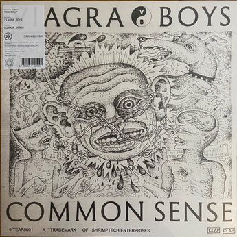 "Viagra Boys - Common Sense (Limited Edition 180-GM Transparent Pink 12"" Vinyl EP)"