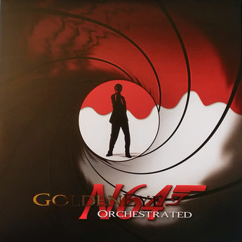 Rich Douglas - Goldeneye N64 Orchestrated (Limited Edition Clear w/ Blood Red Splatter Vinyl LP x/250)