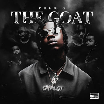 Polo G - The Goat (Autographed Limited Edition Grey & Black Marble Vinyl 2xLP)