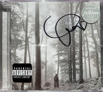 "Taylor Swift - Folklore (Deluxe Autographed ""In The Trees"" CD)"