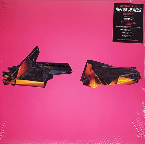 Run The Jewels - RTJ4 (Autographed Indie Exclusive Clear w/ Magenta Swirl Vinyl 2xLP)