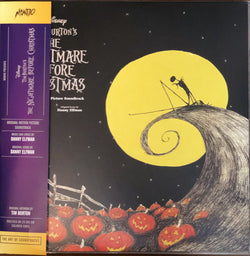 Danny Elfman - The Nightmare Before Christmas [Original Motion Picture Soundtrack] (Mondo Exclusive 180-GM Colored Vinyl 2xLP)