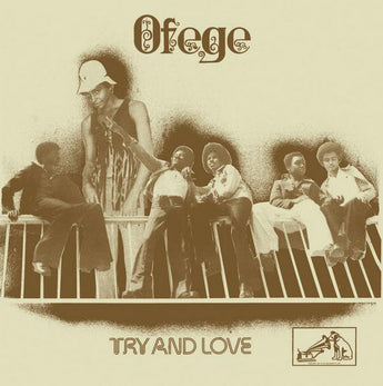 Ofege - Try and Love (Limited Edition Clear Vinyl LP x/100) - Rare Limiteds