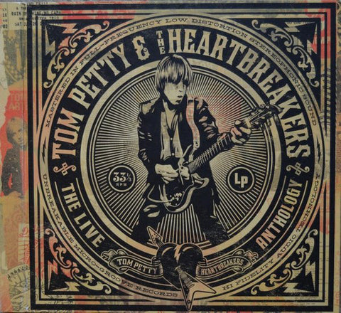 Tom Petty & The Heartbreakers - The Live Anthology (Audiophile 180-GM Viny 7xLP Box Set)