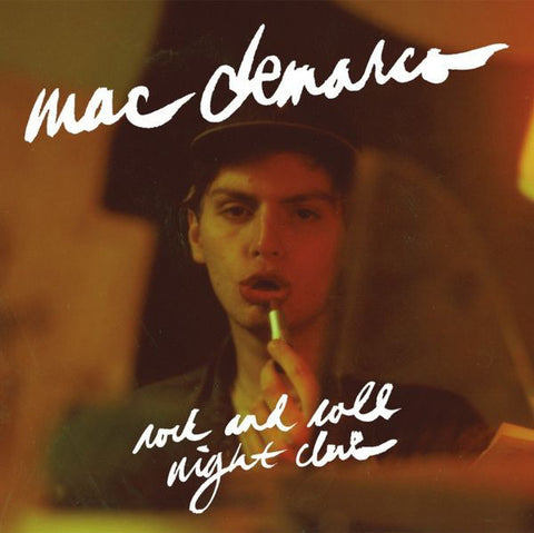 "Mac Demarco - Rock And Roll Night Club (Newbury Comics Exclusive Blue w/ White Splatter 12"" Vinyl EP x/500)"