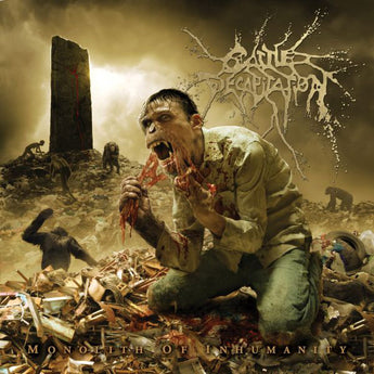 Cattle Decapitation - Monolith Of Inhumanity (Limited Edition Precious Metal Vinyl LP x/100)