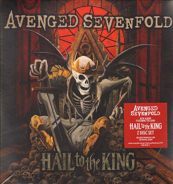 Avenged Sevenfold - Hail To The King (180-GM Vinyl 2xLP + Digital Download) - Rare Limiteds