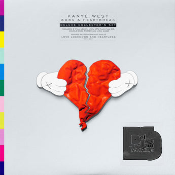 Kanye West - 808s & Heartbreak (Deluxe Edition Vinyl 2xLP + CD)