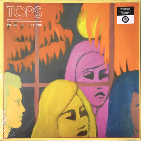 Tops - Picture You Staring (Limited Edition Coke Bottle Clear Vinyl LP)
