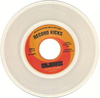 "Calibro 35 - Bandits On Mars (Special Edition Clear Colored 7"" Vinyl x/500) - Rare Limiteds"
