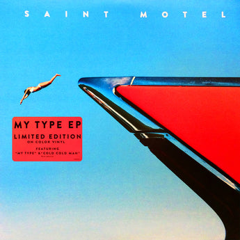 "Saint Motel - My Type (Limited Edition Turquoise Marbled 10"" Vinyl EP)"