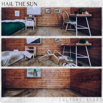 Hail The Sun - Culture Scars (Limited Autographed Brown w/ Black Marble Vinyl LP)