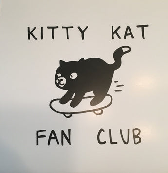 "Kitty Kat Fan Club - Songs About Cats (Limited Edition Purple 7"" Vinyl EP x/300)"