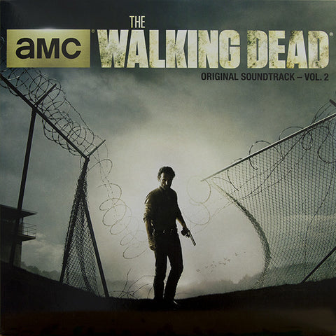 Various Artists - The Walking Dead [AMC Original Soundtrack Vol. 2] (Limited Edition Orange/Black Split Vinyl LP)