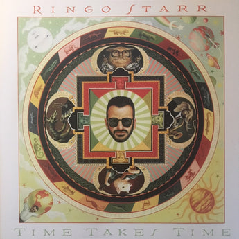 Ringo Starr - Time Takes Time (Limited Anniversary Edition 180-GM Translucent Red Vinyl LP x/1000)